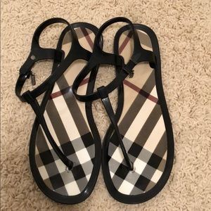 Burberry Jelly Thong sandal